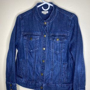 Cold Water Creek Jean Jacket Size 14